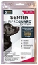 SENTRY FiproGuard Flea & Tick Topical for Dogs 6 Dose 45-88lbs