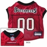 Tampa Bay Buccaneers NFL Dog Jersey - Large