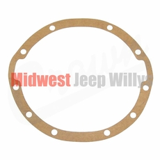 1) Differential Housing Cover Gasket Fits 1946-1949 Jeep CJ2A with Dana 41 Axle