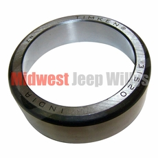 10) Inner Pinion Bearing Cup, Rear Dana 41 & Dana 44 with Tapered Axles, 1946-1969 Models