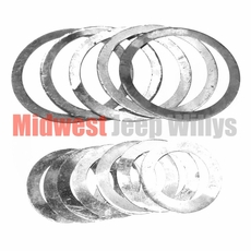 10) Pinion Bearing Shim Kit Fits 1941-1965 Jeep & Willys with Dana 25 Front Axle