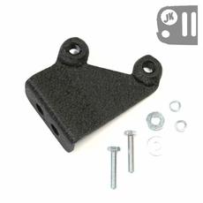 CB Antenna Mount from Rugged Ridge fits the Stock Spare Tire Carrier on 2007-17 Jeep Wrangler