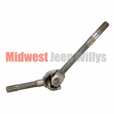 14) Front Axle Shaft Assembly, Right Side Axle (short), Dana 25 & Dana 27, 10 spline