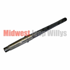 14) Rear Axle Shaft for Passenger Side, Right Hand, 19 Spline, Dana 44 with Tapered Axles, 1956-1969 CJ Models