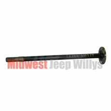 14) Right Side Axle Shaft, Passenger Side, Dana Model 23-2 Axle, 1941-1945 Willys MB, Ford GPW