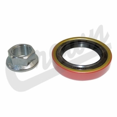 (15) Pinion Oil Seal with Nut, For 76-86 Jeep CJ5, CJ7, CJ8 with AMC Model 20 Rear Axle