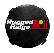 7-Inch Off Road Fog Light Cover, Pair by Rugged Ridge