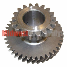 """18) Intermediate Gear for 1-1/4"""" Shaft, 39 x 18 Teeth, fits 1953-71 Jeep & Willys with Dana Spicer 18 Transfer Case ����������"""