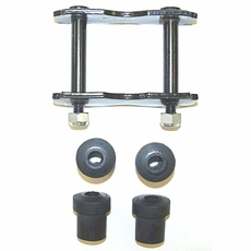 1976-86 SHACKLE KITS W/ BUSHINGS, CJ5, CJ7, CJ8 REAR SPRING