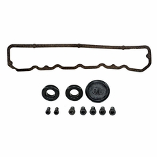 1981-86 Replacement Hardware Kit w/Gasket For 6 Cyl Aluminum Cover