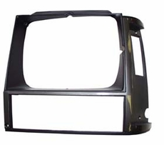 1984-90 XJ HEADLIGHT BEZEL, GRAY, LEFT