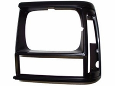 1993-96 XJ HEADLIGHT BEZEL, BLACK, LEFT