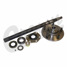 "(2) Passenger Side Axle Shaft Kit, 22"" In Length, For 76-79 Jeep CJ-5 & CJ-7 with AMC Model 20 Quadra-Trac Rear Axle"