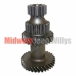 2) Transmission Countershaft Cluster Gear Fits 1945-71 Jeep & Willys with T-90 Transmission ( Teeth 33-26-19-14 )