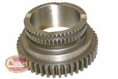 25) Differential Sprocket, Jeep Cherokee & Comanche 1987-2000, Grand Cherokee 1993-1999 with NP-242 Transfer Case