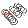 6) Differential Carrier Bearing Shim Kit Fits 1941-71 Jeep & Willys with Dana 25 & 27 Front