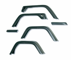 7-Inch Fender Flare Kit, 97-06 Jeep Wrangler by Rugged Ridge