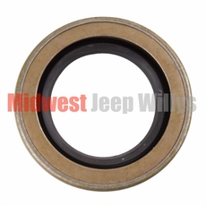 8) Oil Seal for Output Shaft, Front and Rear Output, fits 1941-71 Jeep & Willys with Dana Spicer 18 Transfer Case