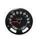 Speedometer Gauge Dial Head w/ Odometer (0-90 MPH Dial) fits 1955-79 Jeep CJ Models