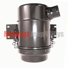 Air Cleaner Assembly, Oil Bath Style, for 4-134 L-Head Engines, fits MB, GPW, CJ2A, Pick Up Truck, 4WD Station Wagon
