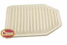 Air Filter, fits 2007-11 Jeep Wrangler JK with 3.8L Gas Engine