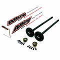 Alloy USA 30-spline Dana 35 Grande C-Clip Style Rear Axle Shaft Kit fits 1990-1902 Jeep Cherokee and Wrangler without ABS