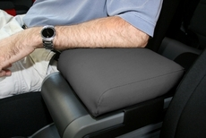 Neoprene Arm Rest Cover, Black, 07-10 Jeep Wrangler by Rugged Ridge