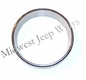 Bearing Cup, Axle Shaft Hub, Fits WWII 1/4 Ton, M100 Trailer