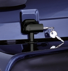 Locking Hood Catch Kit, 97-06 Jeep Wrangler by Rugged Ridge