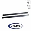 Black Powder Coated Stainless Entry Guards Set fits 1976-1995 Jeep CJ7 & YJ Wrangler by Kentrol