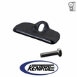 Black Powder Coated Steel Battery Tray Clamp fits 1976-1986 Jeep CJ Models by Kentrol