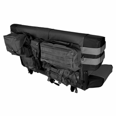 Black Rear Cargo Seat Cover, fits 1976-2006 Jeep CJ and Wrangler YJ, TJ Models