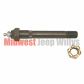 Torque Reaction Bolt, Long Spring Pivot Bolt, Fits 1941-1945 Willys MB, Ford GPW