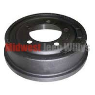 "Brake Drum, Front or Rear, for 10"" x 2"" Brakes, 1966-1971 CJ5, CJ6 & Jeepster Commando C101"