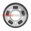 "Brake Drum, Front or Rear, 9"" x 1-3/4"" Fits 1941-1953 Willys MB, Ford GPW, Willys CJ2A, CJ3A"