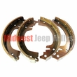"Brake Shoes Set, Front or Rear, 9"" x 1-3/4"", 1953-1971 Jeep M38A1, CJ3B, CJ5, CJ6"