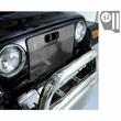 Radiator Bug Shield, Stainless Steel, 97-06 Jeep Wrangler by Rugged Ridge