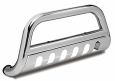 Bull Bar with Skid Plate, 3-Inch, Stainless Steel, Outland Automtoive, Ford F250/350/450/550HD Superduty 2011