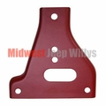 Bumper Gusset, Drivers Side Lower, Fits 1941-1945 Willys Jeep MB, Ford GPW