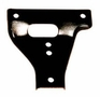 Bumper Gusset, Drivers Side Upper, Fits 1941-47 Jeep MB, CJ2A