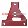 Bumper Gusset, Passenger Side Upper, Fits 1941-1945 Willys Jeep MB, Ford GPW