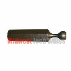 """Cable Adjuster, Clutch Release, Fits 1966-1971 CJ5, CJ6 with V6-225 engine with 58-1/4"""" Long Cable"""