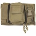 Cargo Seat Cover Coyote Tan Molle Triple Panel Pouch