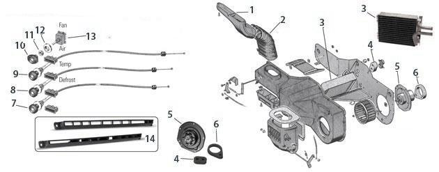 Cj5 Cj7 Heater on m38 wiring diagram