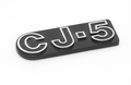 """CJ5"" Emblem, Self Adhesive, 1976-1983 CJ5 , Official MOPAR Licensed Product    DMC-5455179"
