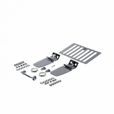 Complete Hood Kit, Stainless Steel, 98-06 Jeep Wrangler by Rugged Ridge