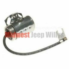 Distributor Condensor for Autolite 24 Volt Waterproof Distributors, Fits Willys Jeep M38, M38A1
