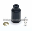 Rubber Shell Connector Kit Female End with 14 Gauge Wire, MS27142-2
