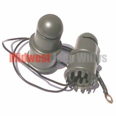 Dash Light Set, 6 Volt, Fits 1941-1945 Willys Jeep MB and Ford GPW Models
