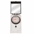 Deluxe Map Compass with Liquid Filled Luminous Dial, Includes lanyard